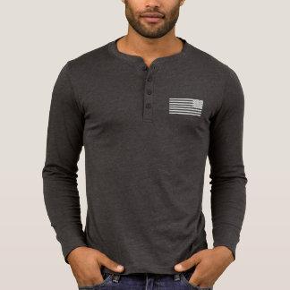 2A (Second Amendment) Est. 1776 Henley Long Sleeve T-Shirt