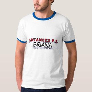 #2ADVANCEDPEprint, briana T-Shirt