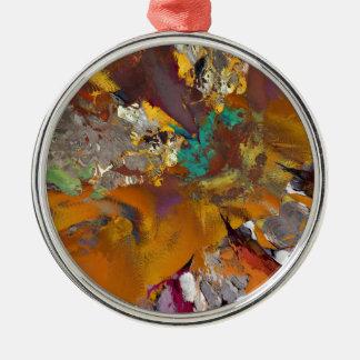 2b Silver-Colored round decoration