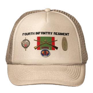 2BN 4th Infantry Regiment Pershing Cap