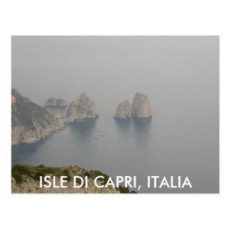 2Capri 2003, ISLE DI CAPRI, ITALIA Postcard