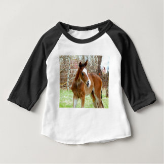 2CUTE HORSE FOAL BABY PONY BABY T-Shirt