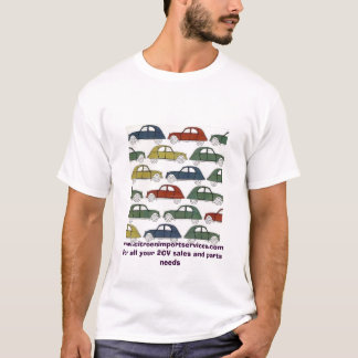 2cvs, www.citroenimportservices.comFor all your... T-Shirt