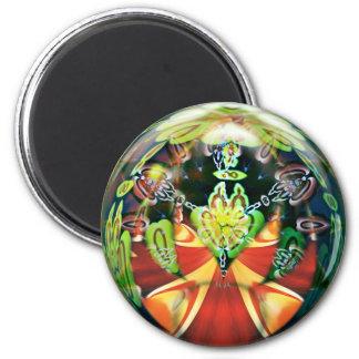 2d3D Psychedelic Magnet
