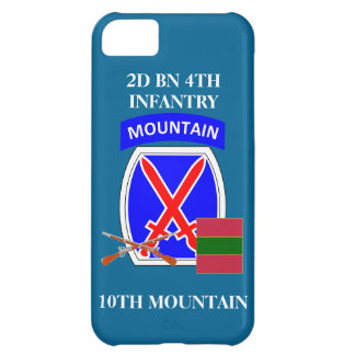2D BN 4TH INFANTRY 10TH MOUNTAIN iPHONE CASE iPhone 5C Case