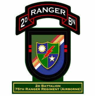 2d Bn, 75th Ranger Regiment - Airborne Standing Photo Sculpture