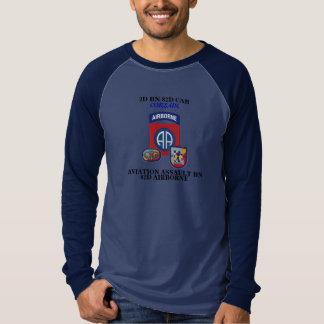 2D Bn 82nd CAB 82D Abn Long Sleeve T-Shirt
