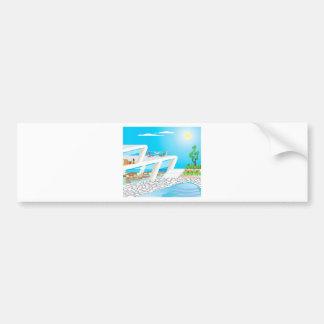 2FloorMansionOceanFront_SMX Bumper Sticker