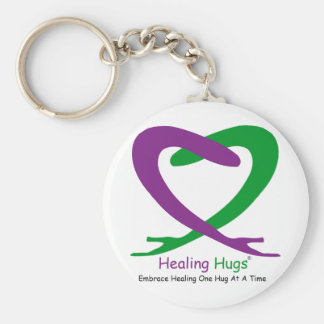 2HH with tag line Vector 200x210.ai Basic Round Button Key Ring