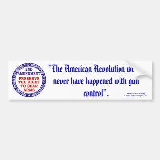 2nd Amendment_1/60 Bumper Sticker