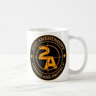 2nd Amendment 3 Basic White Mug