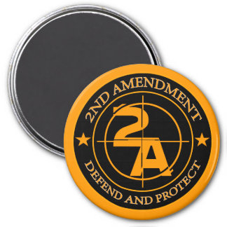 2nd Amendment 3 Refrigerator Magnet