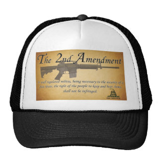 2nd. Amendment Cap