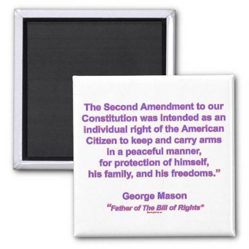 2nd Amendment - George Mason Magnets