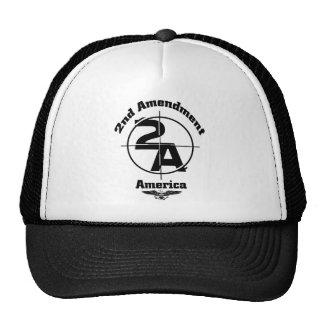 2nd Amendment Mesh Hats