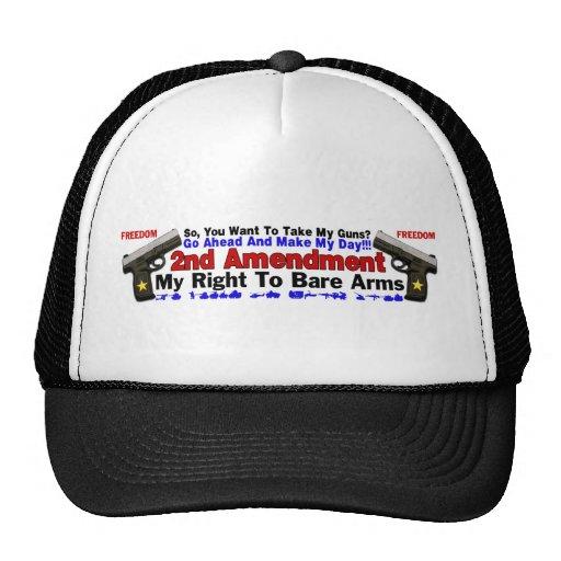 2nd Amendment Trucker Hat