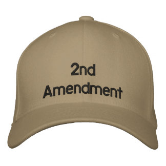 2nd Amendment Hat Embroidered Cap