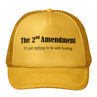 2nd Amendment--It's got nothing to do with hunting Cap
