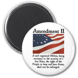 2nd Amendment Fridge Magnets