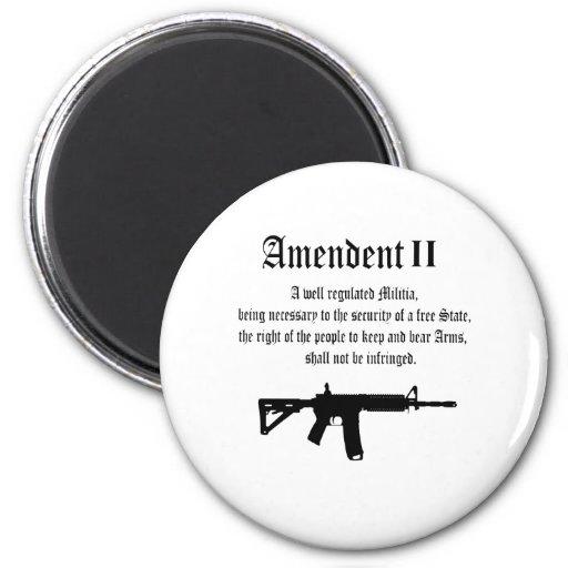 2nd Amendment Refrigerator Magnets