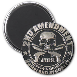 2nd Amendment Medal Fridge Magnets