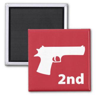 2nd (Amendment) Square Magnet