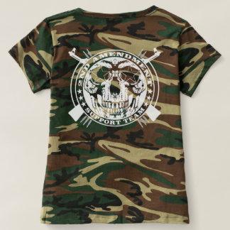 2nd Amendment Support Team Camouflage T Shirts