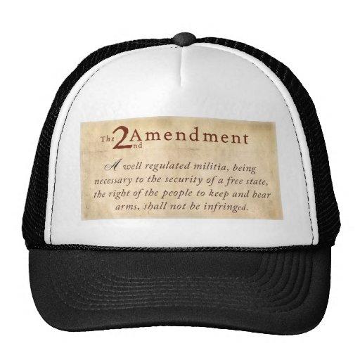 2nd Amendment Vintage Mesh Hat