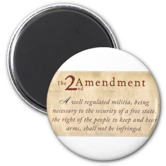 2nd Amendment Vintage Fridge Magnets