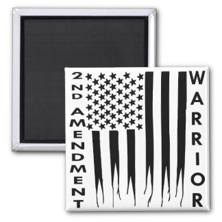 2nd Amendment Warrior Square Magnet