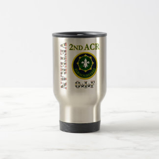 2nd Armored Cavalry OIF Travel Mug
