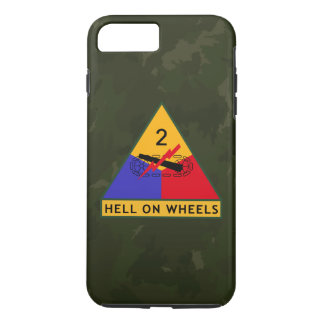 "2nd Armored Division ""Hell On Wheels"" FURY iPhone 7 Plus Case"