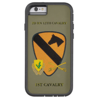 2ND BATTALION 12TH CAVALRY 1ST CAVALRY CASE TOUGH XTREME iPhone 6 CASE