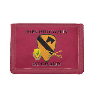 2ND BATTALION 12TH CAVALRY 1ST CAVALRY WALLET