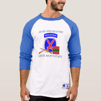 2ND BATTALION 4TH INFANTRY 10TH MOUNTAIN SHIRT