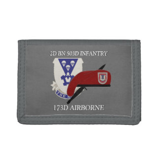 2ND BATTALION 503D INFANTRY 173RD AIRBORNE WALLET