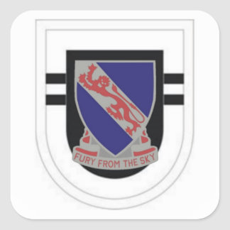 2ND BATTALION 508TH INFANTRY FLASH/DUI STICKERS