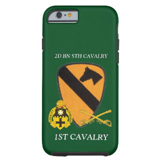 2ND BATTALION 5TH CAVALRY 1ST CAVALRY CASE TOUGH iPhone 6 CASE
