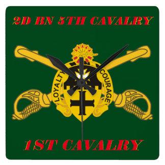 2ND BATTALION 5TH CAVALRY 1ST CAVALRY CLOCK