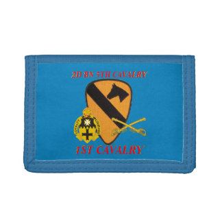 2ND BATTALION 5TH CAVALRY 1ST CAVALRY WALLET