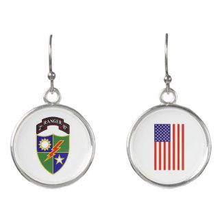 2nd Battalion - 75th Ranger Regiment Earrings
