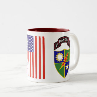 2nd Battalion - 75th Ranger Regiment Two-Tone Mug