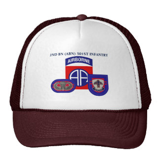 2ND BATTALION (ABN) 501ST INFANTRY HAT