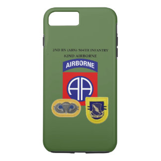 2ND BATTALION (ABN) 504TH INFANTRY iPHONE CASE