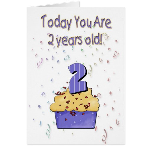 2nd Birthday Card - Customized