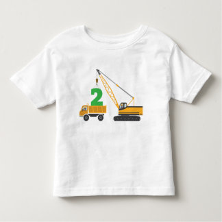2nd Birthday Construction Tee