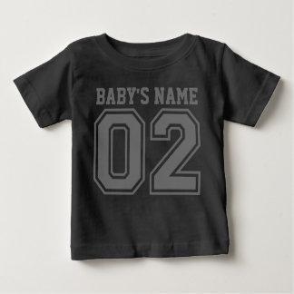 2nd Birthday (Customisable Baby's Name) Baby T-Shirt