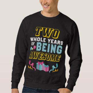 2nd Birthday Gift For Daughter/Son. Sweatshirt