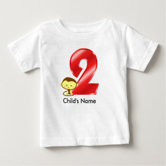 2nd Birthday Monkey t-Shirt