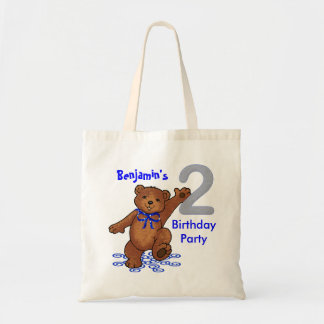 2nd Birthday Party Bears Goodie Bags